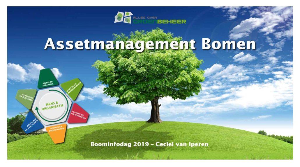 Assetmanagement boominfodag 2019